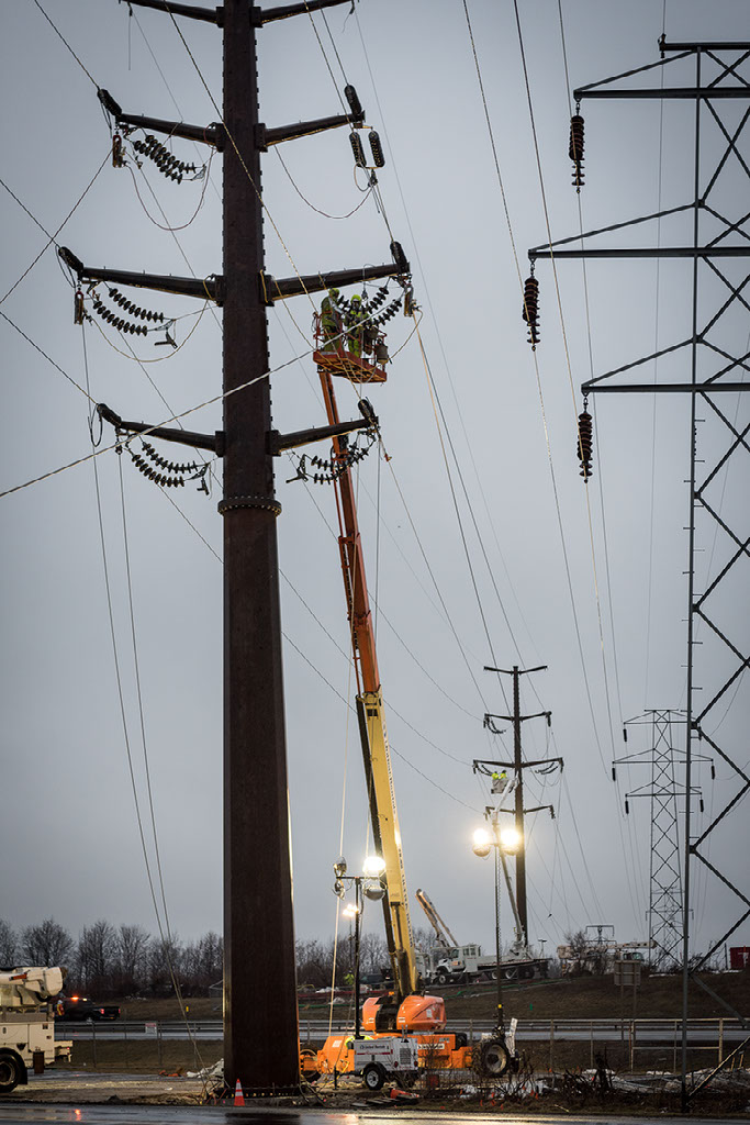 NEAT outside lineman work on transmission systems